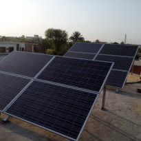 10kVA Hybrid Solar System Installed at Bahawalpur